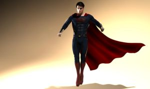 The Man of Steel 3D by Leon8524