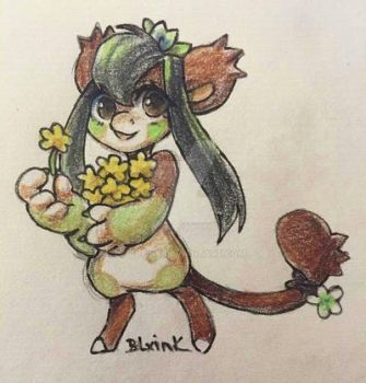 A flower for you by BLxINK