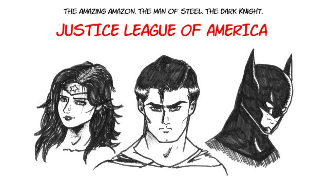 Justice League : the trinity by BlackWolflord666