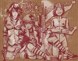 Tank Girl by FischHead