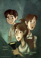 The Ghosts of Pineville by danidraws