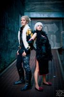Ace Attorney - Investigator and Secretary by LiquidCocaine-Photos