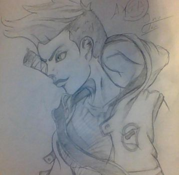 AXIL SKETCH by beart17