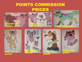 Points commissions prices by L-A-B-R-A-D-O-R