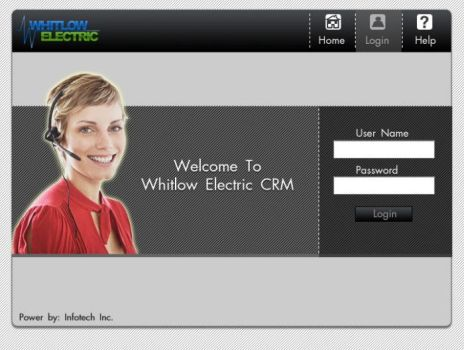 GUI for CRM 02 by gopalb