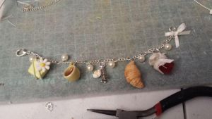 new bracelet preview- 'sweet afternoon delight' by ilikeshiniesfakery