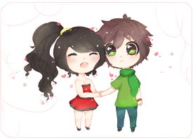 Contest Entry - What time is it? It's Love Time! by mao-hiime