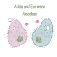 Adam and Eve... by nellylover