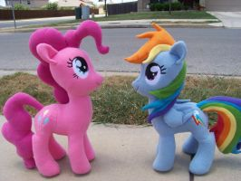 Rainbow Dash and Pinkie Pie: Contest Prizes! by eebharas
