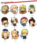 PaperChibi Straps: Hetalia by spam-inc