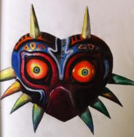 Majoras Mask 2 by Butterlord120