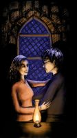 Harry and Hermione by matted