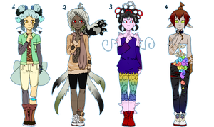 Adoptables - [closed] by Potriopis
