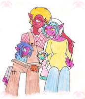 MLP: Tracks' New Family by KPenDragon