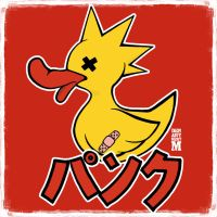 Punk Duck By Dept M by DepartmentM