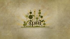 Desktop Wallpaper April 2011 by NayaDesigns