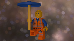 Emmet Lego man render by SupeRobotLazerTiger