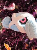 Metagross in a christmas tree~ by Magikarpette