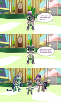 Spike's Question by Chatterbeast