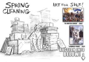 Spring Cleaning - Art for Sale by screwbald