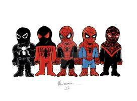 Little Spider-Men by chrismas-81