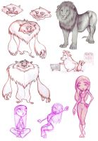 Some of my doodles_002 by dashingrainbow2012