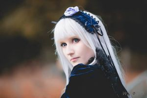 Suigintou Cosplay 3/4 by Psunna
