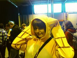 Sandshrew cosplayer by TheLupineOne