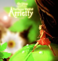 The Secret World of Arrietty Fan Art w/speed paint by ShaneBot