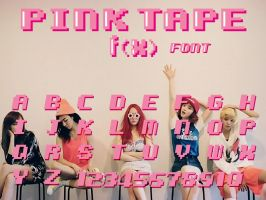 f(x) - Pink Tape #font by AffxtionComunity