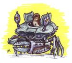 Sparrow's Crab Bot by jbrenthill