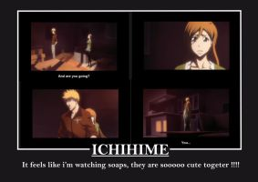 IchiHime in Bleach Movie 4 by Pearl-eye117