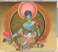 SH green tara WIP by Fensterseifer