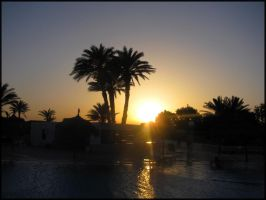 Sunset on Djerba 06 by garbo009