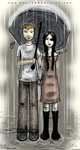 Rain (Holding Hands) by godlessmachine