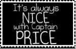 It's always nice with Captain Price stamp by QueenJellybeany