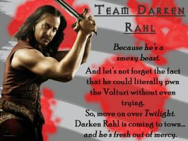 Team Darken Rahl Poster by AThousandSnakebites