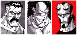 new sketchcards by HEROBOY