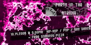 Party Flyer Pink by The-Rainmaker
