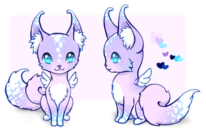 Curlytail Fox Adopt ~ Raffle Prize [OPEN] by Morgan-Draws