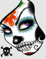 day of the dead by chrisxart