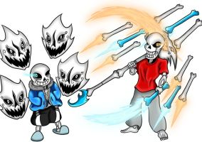 Skelebros by DarkNazawrath