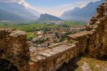 View from Castello di Arco, Italy by janip