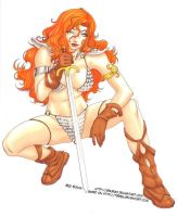 Red Sonja by zimra-art