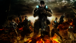 Wallpaper Gears of War 3 by Pain-orco