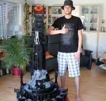crazy lego tower by TheMoonSamurai