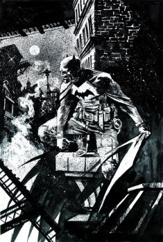 Batman Commission #2 by Hristov13
