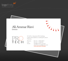ProTech - Visiting Card by graphican