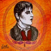 Barnabas in Pen and Ink by mer-wench