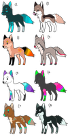 Canine Adopts 1 OPEN by Loba-Adopts